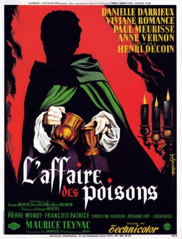 affaire poisons poster